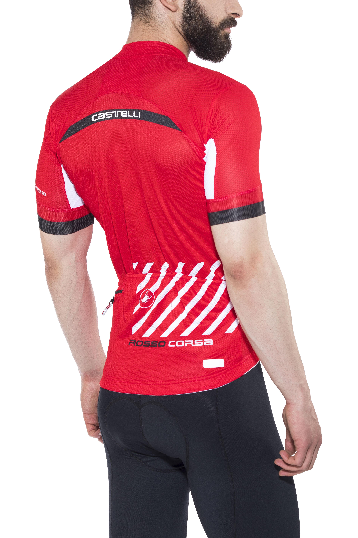 94ef7e78b Castelli Free Ar 4.1 Bike Jersey Shortsleeve Men red at Bikester.co.uk